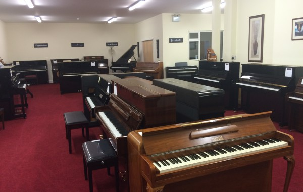 Take a Tour of our Piano Showroom